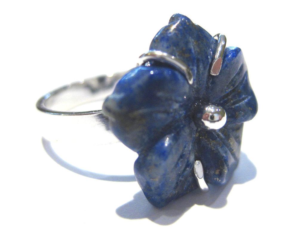 le meilleur sélectionner pour véritable qualité fiable anello lapislazzuli fiore