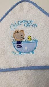Accappatoio neonato personalizzato