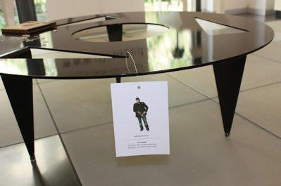 PUNTABLE 90 - Tavolo di design  (Caoscreo)