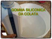 Gomma siliconica colabile Flacone da 1 kg + cataliz. da 50 gr