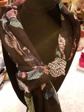Sciarpa gioiello (100% viscosa)
