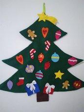 Albero di Natale in Pannolenci per bambini