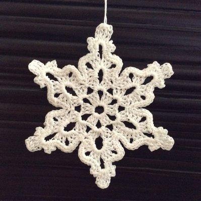 Fiocchi di neve decorazione per il Natale