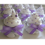 Bomboniera vasetto cupcake