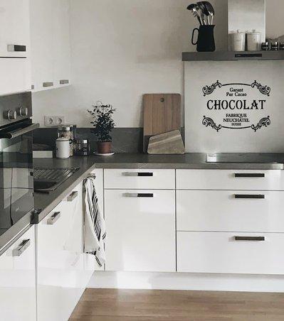 Adesivo shabby chic CHOCOLAT Garant pur cacao