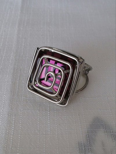 anello regolabile in metallo