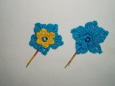 Coppia forcine fiore #1
