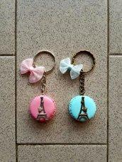 """Portachiavi """"Macarons de Paris"""" fimo"""