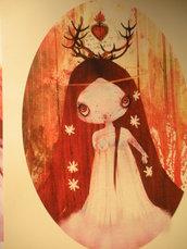 My Agape (A3 illustration print)