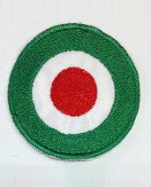 Toppa (patch) ricamata termoadesiva coccarda COPPA ITALIA diametro cm. 4 e 4,5