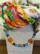 Foulard gioiello fiorato 🌸