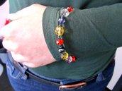 bracciale colorato
