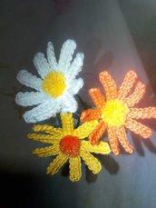 fiore di cotone uncinetto