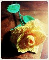 rosa in cotone