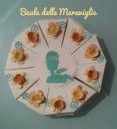 bomboniera segnaposto battesimo comunione torta portaconfetti