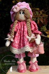 Bambola Daisy in stoffa