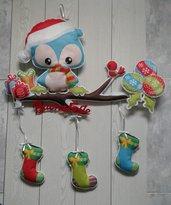 Ghirlanda fuoriporta natalizio