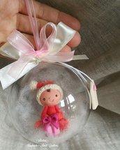 Sfera bebè idea regalo Natale bimba