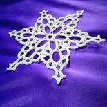 Fiocco di neve decorazione  natale