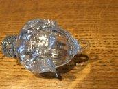 Gocce o cristalli , ricambi per riparare lampadari o applique con pezzi rotti, in vetro soffiato di Murano