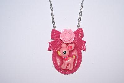 Collana Deery lou rosa