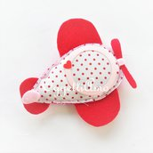 Una cornice rosa per accogliere la foto della vostra bambina: aereoplanino, cornice, magnete