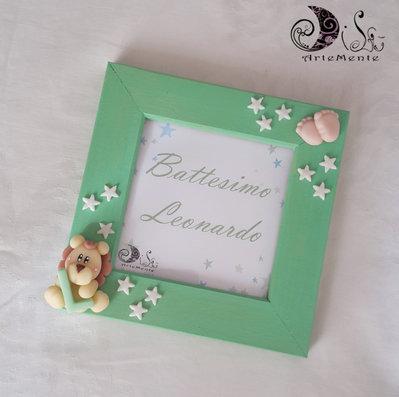 Cornice portafoto idea regalo personalizzabile compleanno, nascita, battesimo, natale, compleanno