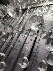 Gocce o cristalli pendenti, pezzi di ricambio o sostituzioni per lampadari con pezzi rotti
