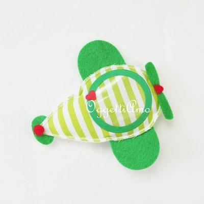 Aeroplano di feltro come gadget di fine compleanno o bomboniere originali per il battesimo del vostro bambino!