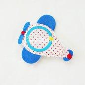 Una cornice fatta a mano a forma di aeroplano per bomboniere veramente originali per il battesimo, comunione o compleanno del tuo bambina!