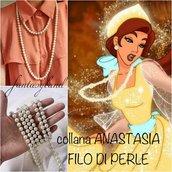 Filo di perle cosplay ANASTASIA ROMANOV together in paris cartone