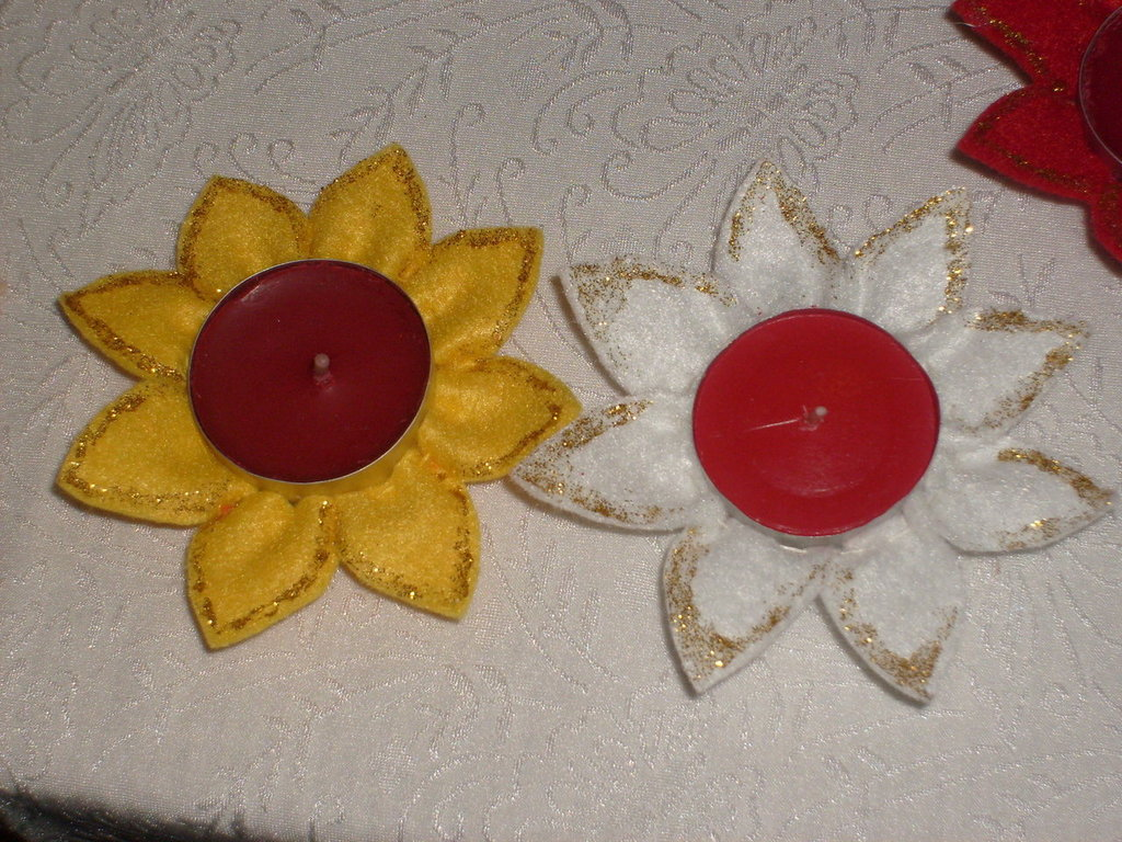 porta/decora candele