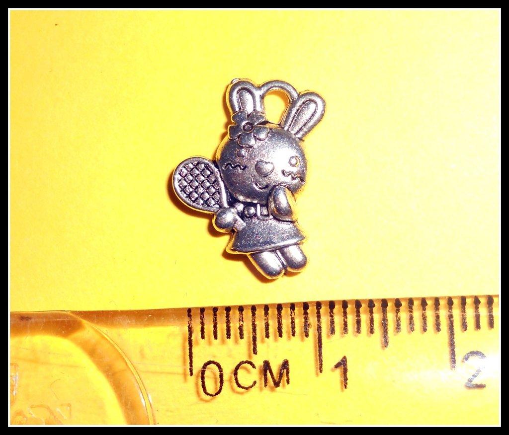 5 ciondoli aforma di coniglietta kawaii