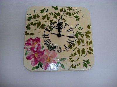 orologio edera e fiori (NON DISPONIBILE)
