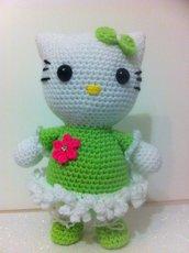 Hello Kitty ballerina (pupazzo amigurumi)