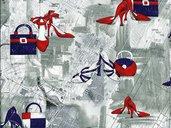 TESSUTI AMERICANI STOFFE COTONE BATIK PATCHWORK QUILTING APPLICAZIONI DECORAZIONI CUCITO CREATIVO - INSERZIONE 31