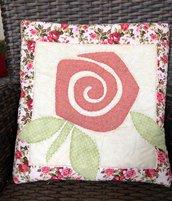 Quillow - cuscino che si trasforma in coperta di pile - Cuscino con rosa rosa