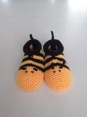 Babbucce bebè crochet
