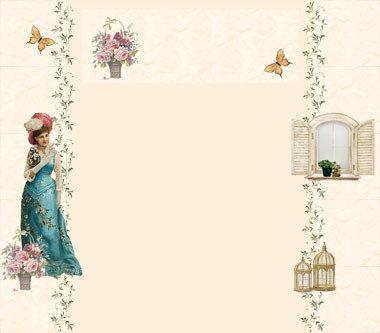 Template per Blog Blogger Personalizzabile - Vintage - Immagini
