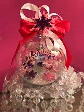 Palline di Natale personalizzate in vetro