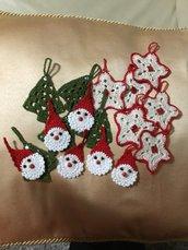 Segnaposto natalizio o addobbo per l'albero