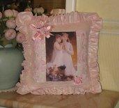 Esclusivo cuscino rosa stile vittoriano