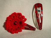 Coppia Mollette Fiore #1