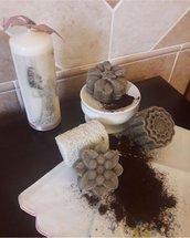 Sapone scrub al caffè