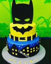 Torta scenografica Batman