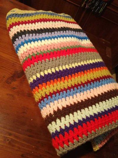 coperta lana colorata