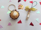 🎄 Set portachiavi cioccolatini