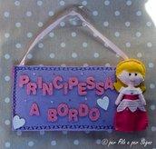Bimba a bordo principessa