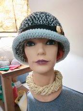 Cappello cloche invernale