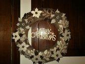fuori porta natalizio shabby